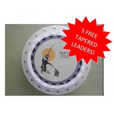 Troutflies Black Sinking fly Line, With Backing Attached and 5 FREE LEADERS!