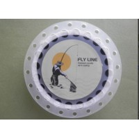 Troutflies Black Sinking fly Line, With Backing Attached