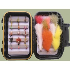 24 Tungsten Nymph and Lure flies  - Boxed Set