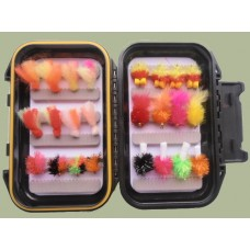 24 Bung and Blob flies  - Boxed Set