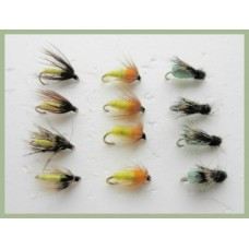 12 Nymph Pupa - Caddis, Amber and La Fontaine