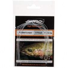 Airflo Trout Floating Braided Loops - 3 Pack