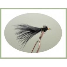 Barbless Black Green Nosed Nomad