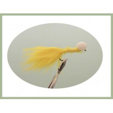 Barbless Long Shank Yellow Booby