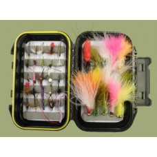45 Bargain Mixed Boxed Flies