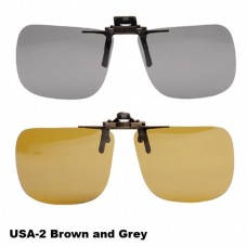 Polarized Clip On Lens - Sunglasses - USA2