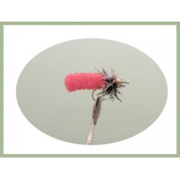 Mop Fly - Cerise, Gold head Fritz