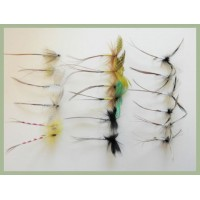 18 Mayflies inc French Partridge and Parachute