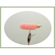 Mop Fly - Pink, Goldhead