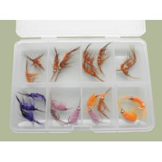 Comp Box - 20 Shrimp and Scud Flies