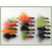 18 Flash Lures - Lightening Flash, Humongous and Flash Damsels