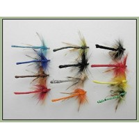 12 Coloured Dragon Fly Damsel