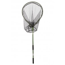 Snowbee Folding Salmon/Pike Landing Net with Rubber-Mesh