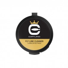 Cortland Fly Line Cleaner, Lubricated pads
