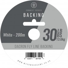 Connect Series Backing Line 30LB White 200m