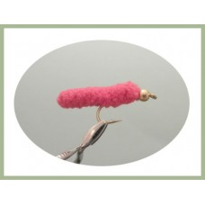 Mop Fly - Cerise, Gold head