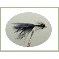 Barbless GH Black Blue Flash Damsel