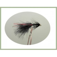 Barbless GH Black Red Flash Damsel