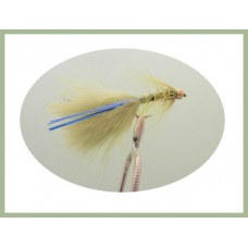 Barbless GH Olive Blue Flash Damsel