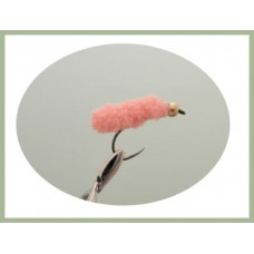 Barbless Pink Mop Fly