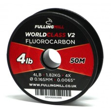 World Class V2 Fluorocarbon by Fulling Mill - 50m