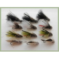 12 BARBLESS Marabou Muddler