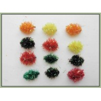 12 Mixed Colour Fritz Egg (Unweighted)