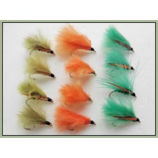 12 Mini Cormorant, Green,Olive & Orange