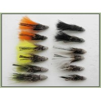 12 Marabou Muddler - Mixed Colour