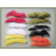 12 Snake Zonkers , Mixed Colours