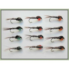 12 Pheasant Tail  Hotheads