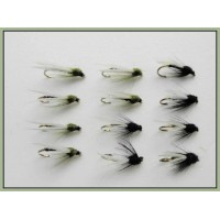 12 Black and Olive Emergers
