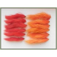 12 Goldhead Zonkers ,Red and Orange