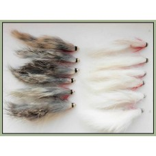 12 Goldhead Zonkers, Natural and White