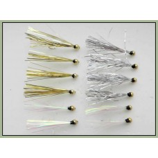 12 Goldhead Sparklers, Pearl, Silver & Gold
