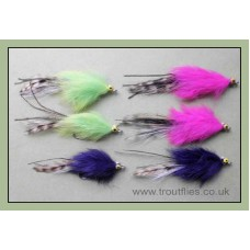 6 Whistler Bass Flies