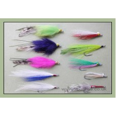 Bumper Pack 10 Mixed Bass Flies