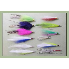 Bumper Pack 12 Mixed Bass Flies