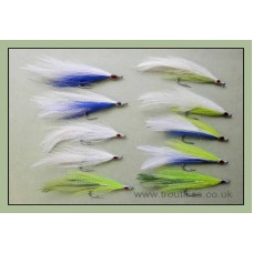 10 Deceiver Bass Flies