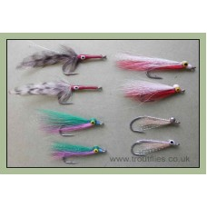 8 Mixed Bass Flies
