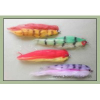 4 Pike Flies, Fry Imitation