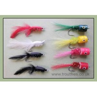 8 Pike Flies - Bangers and Gurglers