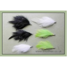 6 Fatso Pike/Bass Flies