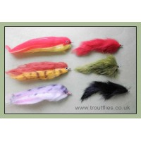 6 Mixed Pike Flies - Various