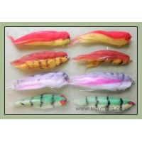 8 Pike Flies, Fry Imitation