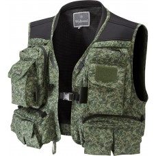 Wychwood Short Fishing Vest Green
