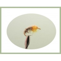 Czech Nymph Fly - Hares Ear/Amber