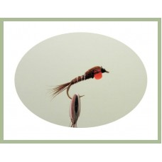 Pheasant Tail Hothead - Red