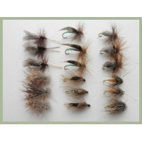 18 Sedge Caddis - 6 patterns
