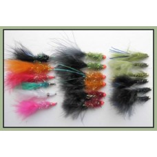18 Mixed Lures, Ally, Nomad & Damsels